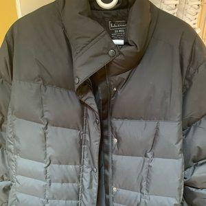 L.L. BEAN plus size black puffer jacket. 3x